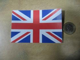 Britská vlajka papierová nálepka rozmery 10x7cm