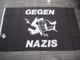 Gegen Nazis vlajka cca. 150x90cm
