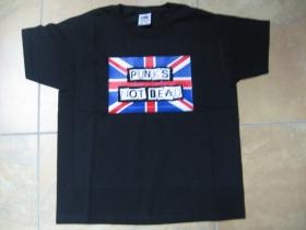 Punks not dead detské tričko 100%bavlna Fruit of The Loom
