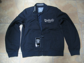 Prechodná bunda COMANDO INDUSTRIES - VINTAGE IMAGE čierna s vyšívaným logom podobná štýlu Harrington...