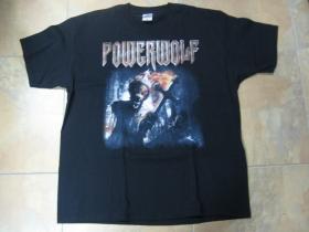 Powerwolf čierne pánske tričko 100%bavlna