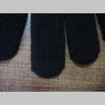 Everlast zimné pletené  rukavice čierno-žlto-biele 100% akryl  univerzálna veľkosť