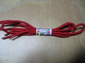 červené okrúhle šnúrky do topánok dĺžka 80cm