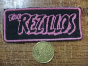 The Rezillos vyšívaná nášivka - posledný kus!!!