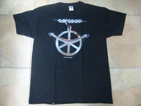 Carcass čierne pánske tričko materiál 100%bavlna