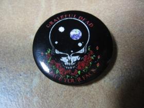 Greteful Dead, odznak priemer cca.30mm