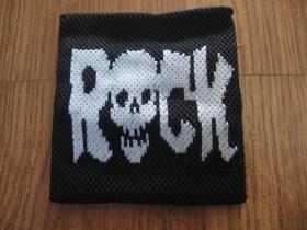 Rock Skull potítko 75%bavlna, 15%spandex, 10%nylon