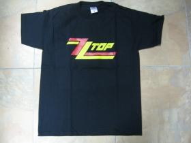 ZZ Top  čierne pánske tričko 100%bavlna