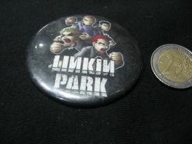 Linkin Park odznak veľký, priemer 55mm