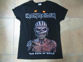 Iron Maiden - The Book of Souls  čierne dámske tričko 100%bavlna