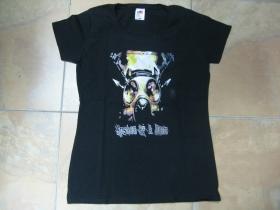 System of a Down čierne dámske tričko 100%bavlna