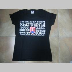 "Slovakia - Slovensko dámske olympijské tričko "" Čičmany ""   100%bavlna, značka Fruit of The Loom  čičmanské vzory a motívy"