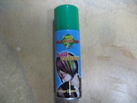 Spray na vlasy zmývateľný zelený, objem 125ml