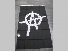 Anarchy vlajka cca. 150x90cm