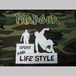Parkour Sport and Lifestyle maskáčové pánske tričko 100%bavlna