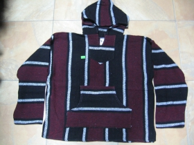 Klokanka bundomikina šedo-čierno-bordová 100%polyester