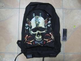 Bullet For My Valentine, ruksak čierny, 100% polyester. Rozmery: Výška 42 cm, šírka 34 cm, hĺbka až 22 cm pri plnom obsahu