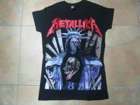 Metallica, čierne dámske tričko