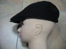 čierna čiapka Rude Boy 100% bavlna