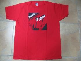 Kraftwerk červené pánske tričko 100% bavlna
