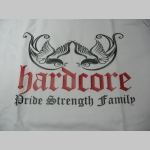 Hardcore - Pride Strength Family  pánske tričko 100%bavlna značka Fruit of The Loom