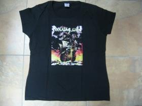 Running Wild  čierne dámske tričko 100%bavlna