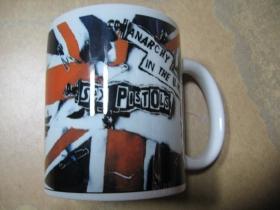 Sex Pistols porcelánový pohár - šálka s uškom, objemom cca. 0,33L