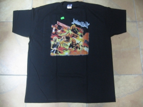 Judas Priest čierne pánske tričko 100% bavlna