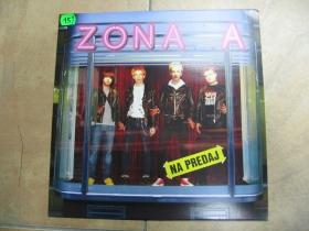 """Zóna A - """" Na predaj """"  LP platňa legendárnej slovenskej punkovej kapely hrajúcej už od roku 1984"""