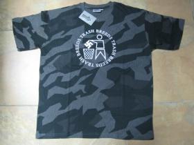 Antifa Trash Breeds  pánske maskáčové tričko 100%bavlna
