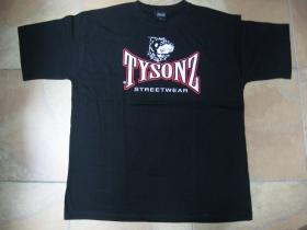 Tysonz čierne pánske tričko 100%bavlna