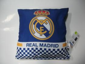 Real Madrid vankúš rozmery cca. 40x40cm materiál povrch 100%bavlna, materiál vnútro 100%polyester