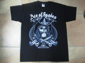 Motorhead Lemmy Ace of Spades čierne pánske tričko 100%bavlna