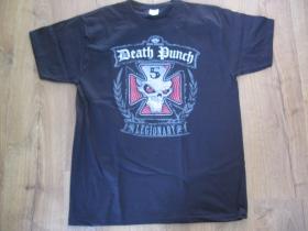 FIVE FINGER DEATH PUNCH čierne pánske tričko 100%bavlna
