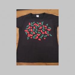 čerešne - dámske tričko Fruit of The Loom 100%bavlna