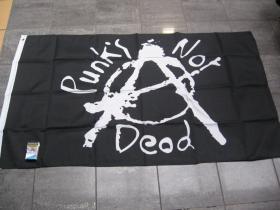 Punks not Dead vlajka cca.150x90cm