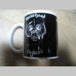 Motorhead porcelánový pohár - šálka s uškom, objemom cca. 0,33L