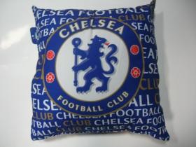 FC Chelsea London vankúš rozmery cca. 40x40cm materiál povrch 100%bavlna, materiál vnútro 100%polyester