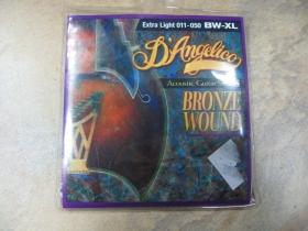 struny na akustickú gitaru Di Angelico BV-XL Ultra Light, Bronze Wound, Extra Light hrúbka 011-050