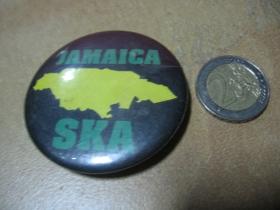 Jamaica Ska  odznak veľký, priemer 55mm