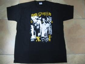 Sex Pistols čierne pánske tričko 100%bavlna