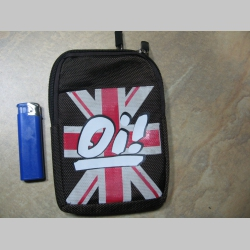 British Oi!  taštička na doklady s karabínkou, pripevniteľná na opasok   materiál 100%polyester  obmedzené zásoby!!!