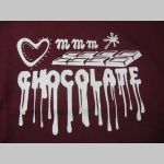 Chocolate - čokoláda dámske tričko 100%bavlna značka Fruit of The Loom