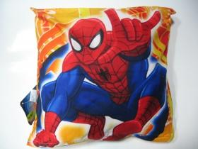 Spiderman vankúš rozmery cca. 40x40cm materiál povrch 100%bavlna, materiál vnútro 100%polyester