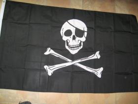 Vlajka PIRÁT  150x90cm  100%polyester