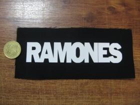 Ramones potlačová nášivka po krajoch neobšívaná