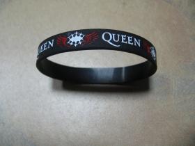 Queen  pružný gumenný náramok s vyrazeným motívom