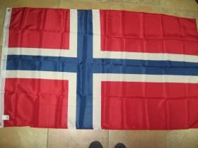 Nórska vlajka rozmery cca. 150x100cm