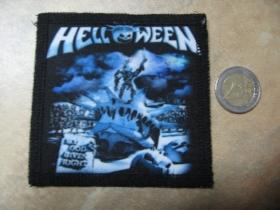 Helloween ofsetová nášivka po krajoch obšívaná cca. 9x9cm