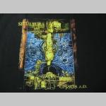 Sepultura čierne pánske tričko 100%bavlna